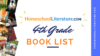 4th Grade Book List