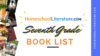 7th Grade Book List
